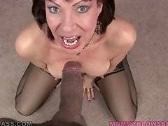 Older Hooker Vanessa Videl Is Good At Oral 1